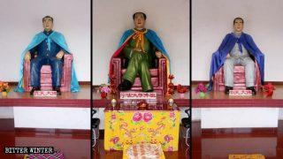 Mao Zedong venerato come Buddha