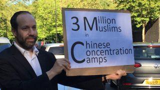 A Londra un ebreo si schiera con gli uiguri