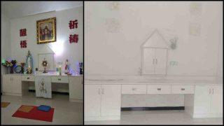 Saccheggiata e poi chiusa una Chiesa cattolica nella diocesi di Yujiang
