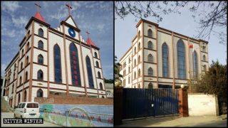 Più di 100 fedeli spinti ad accettare la demolizione della loro chiesa